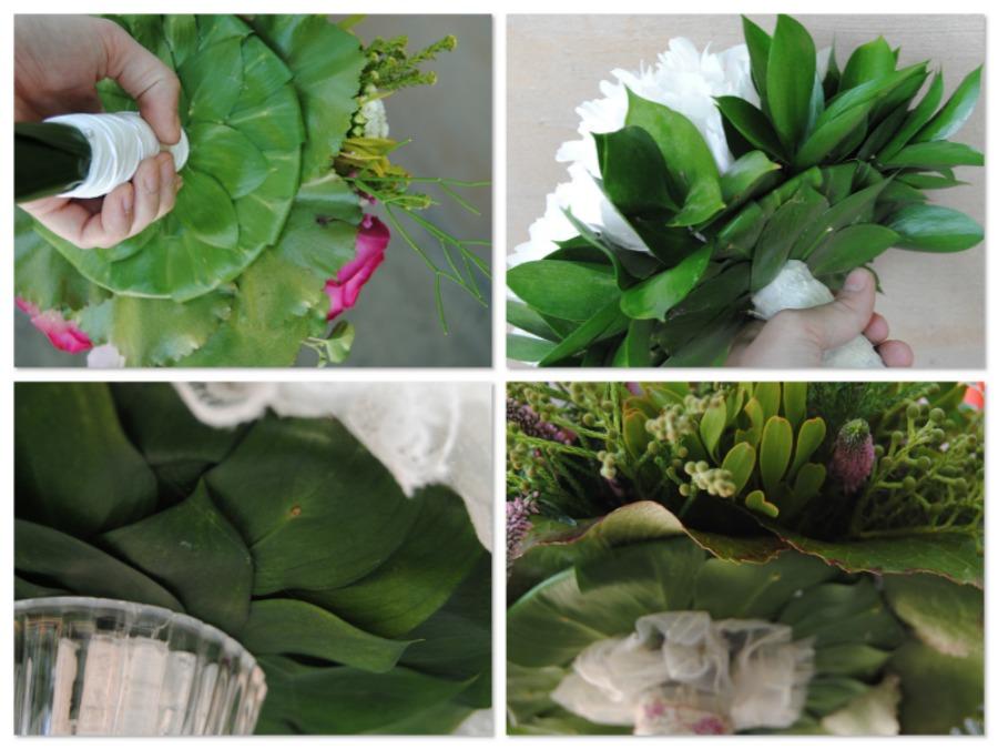 remates de ramo de de novia Mayula flores