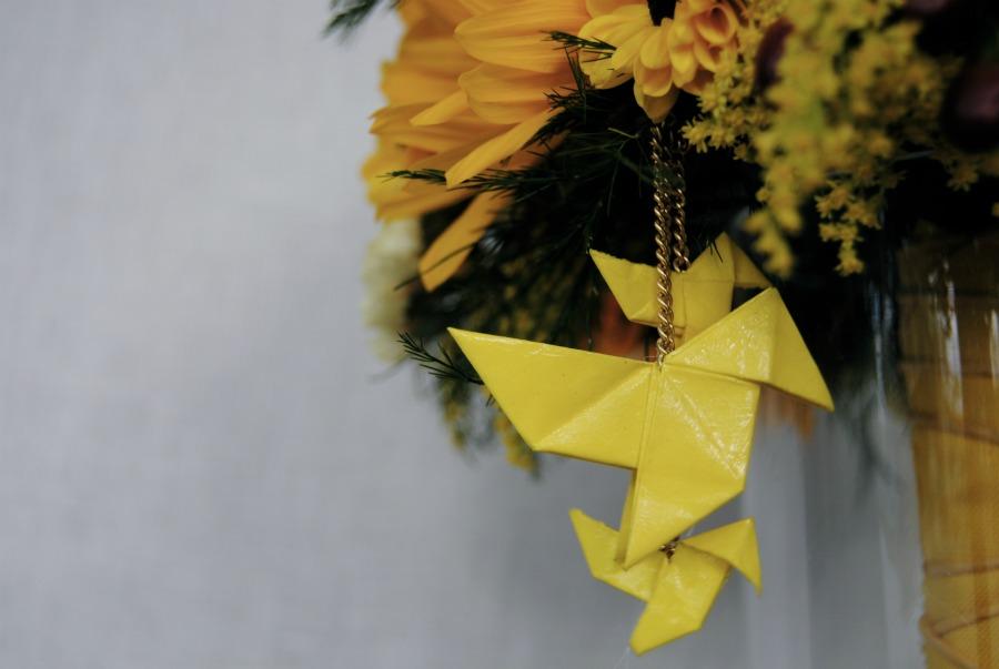 Ramo de novia amarillo girasoles mayula flores