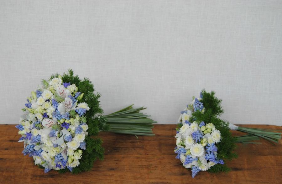 Ramo de novia y miniramos Mayula flores