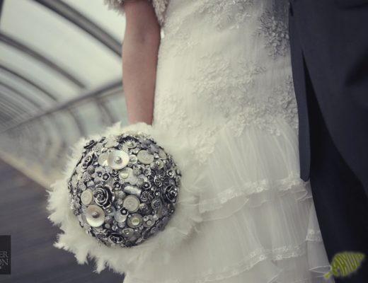 Ramo de novia botones