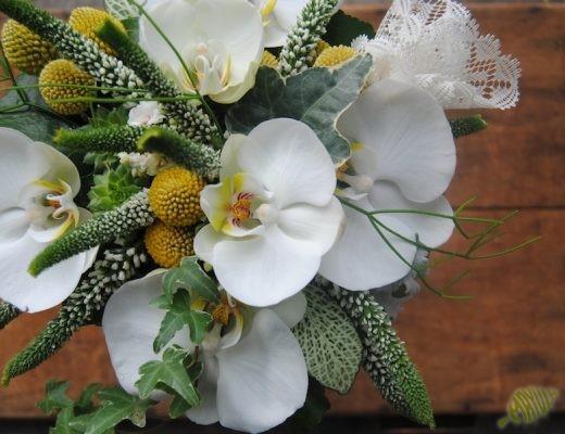 ramo de novia con bolillos