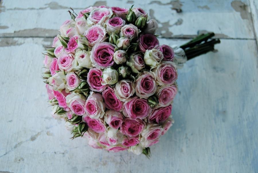 Ramo novia rosas Mimi Eden