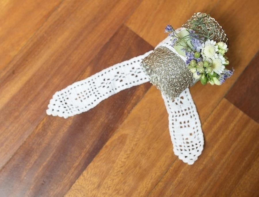 corsage flores