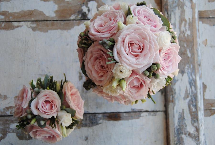 ramo de novia vintage y réplica en miniatura del ramo de novia para regalar