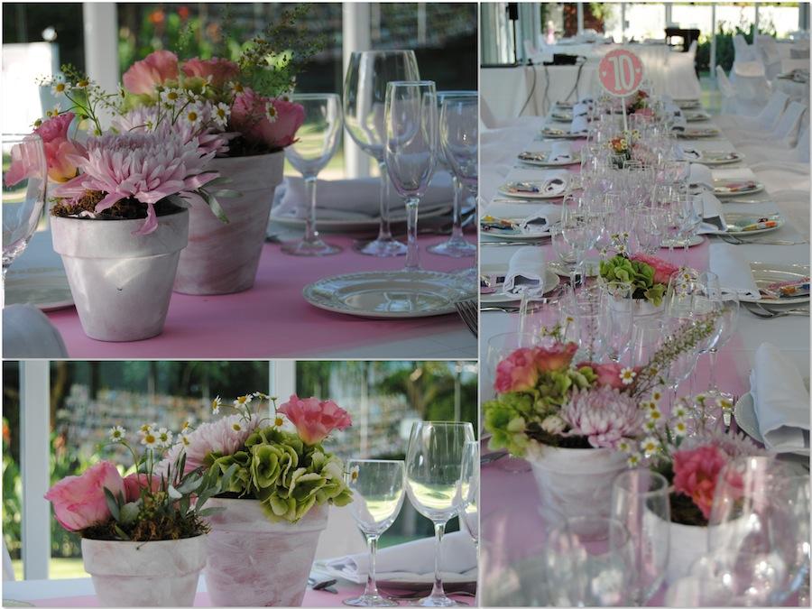 Decoracion para boda en Zaragoza Finca Sansui Salón sauces