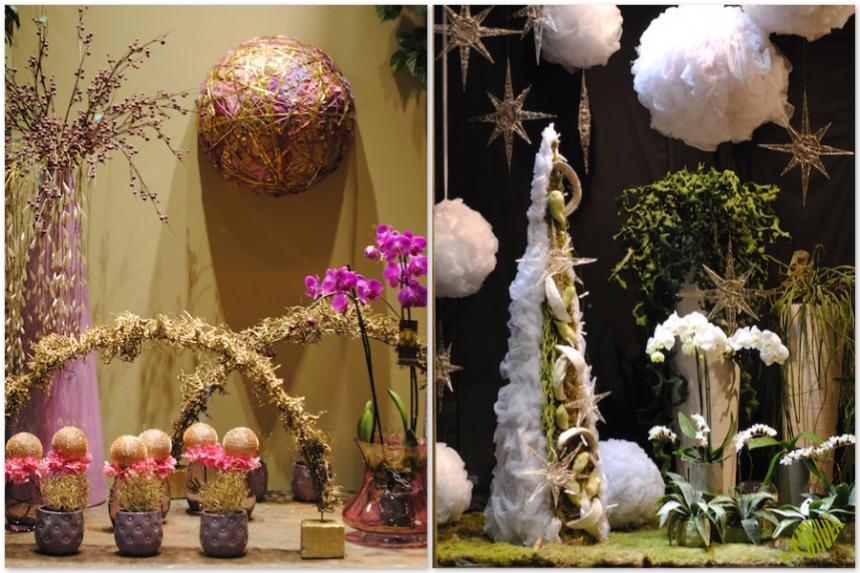 Decoraci n de escaparates de navidad 2014 mayula flores florister a zaragoza - Decoracion de navidad 2014 ...