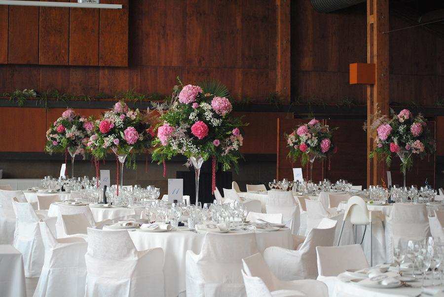 decoración de boda en sansui