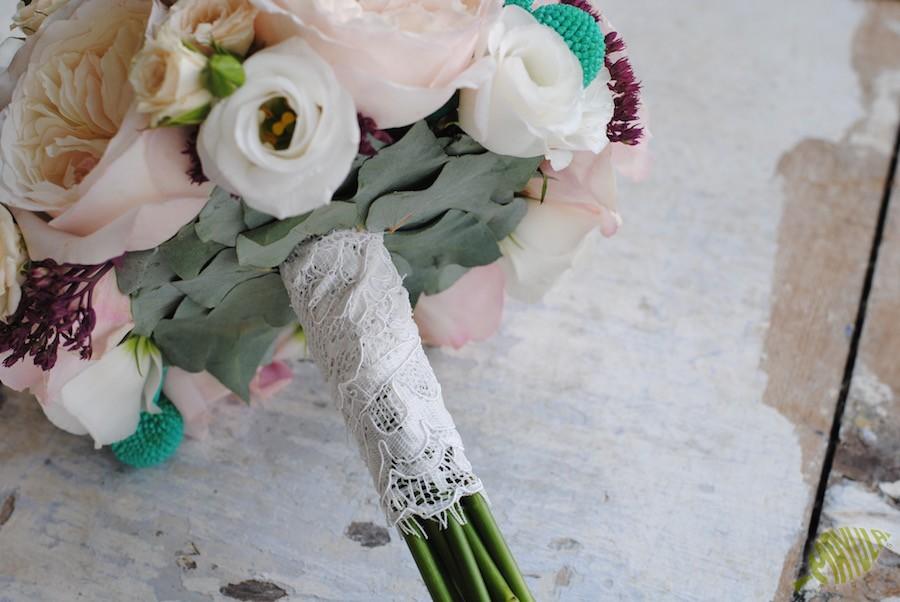 terminación ramo de novia