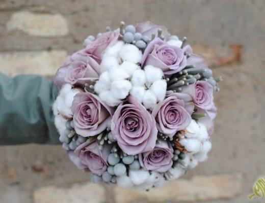 ramo de novia invierno