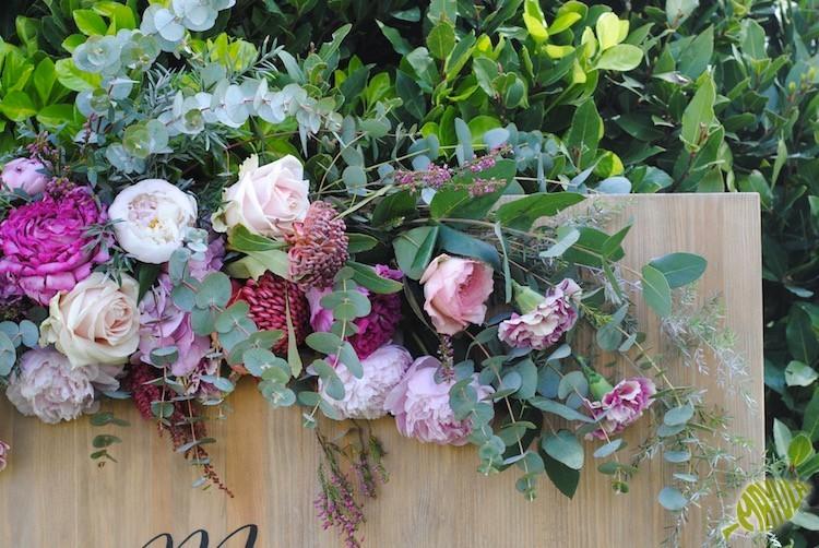 Decoración Floral Boda romántica y rústica