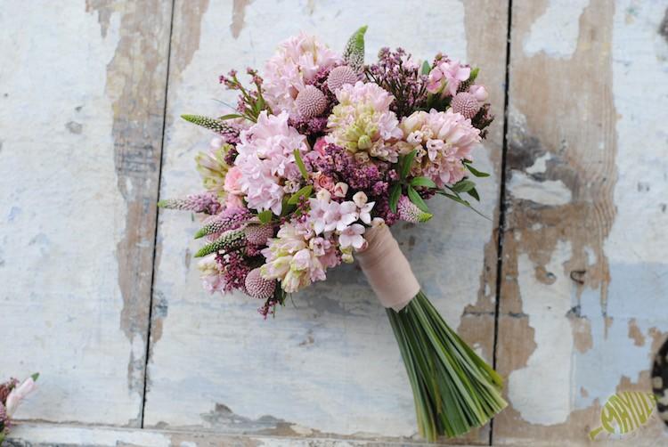 ramo novia jacintos